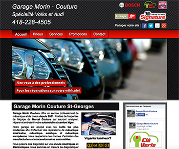 Garage Morin Couture St-Georges