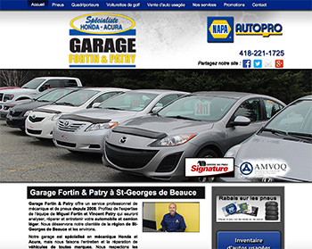 Garage Fortin & Patry Saint-Georges