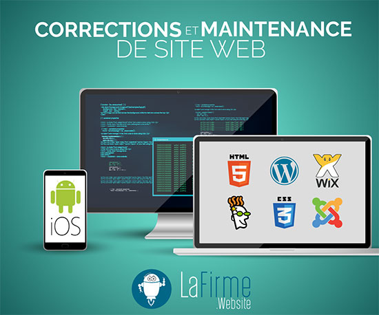 LaFirme Agence web correction et maintenance site web